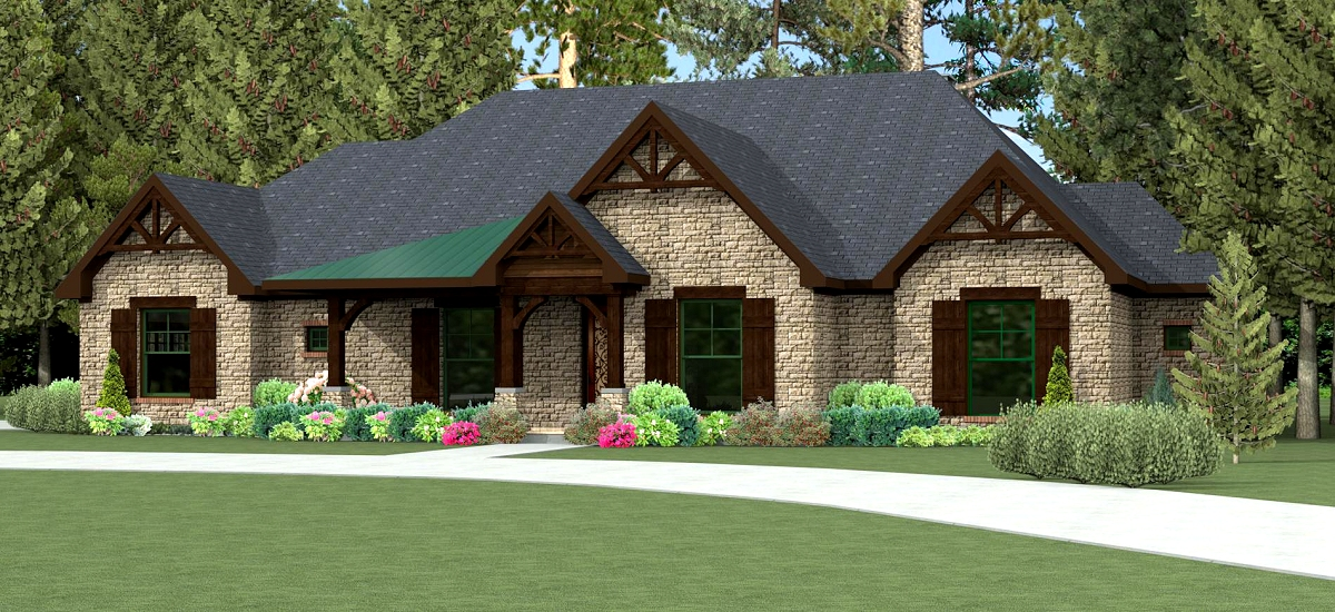 4 Bedroom House Plans Open Floor 1800 Sq Ft