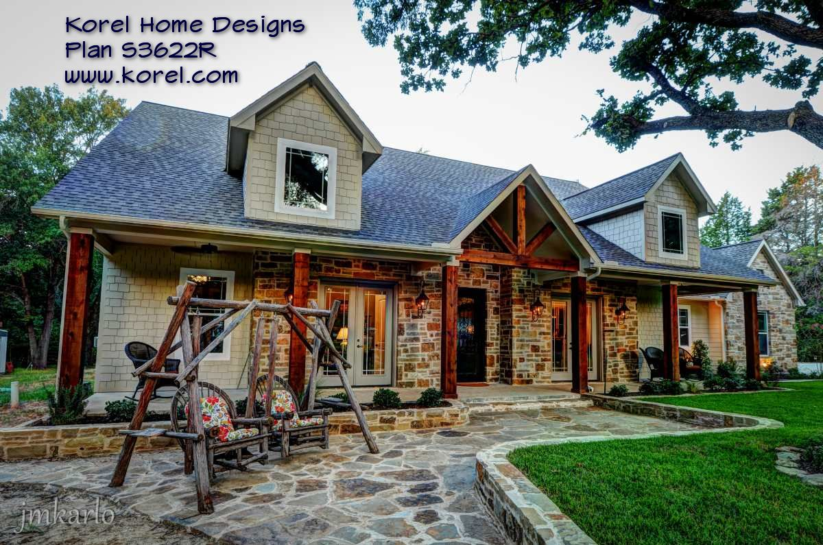 Country House Plan Texas Plans Over Proven Home Designs Online Korel