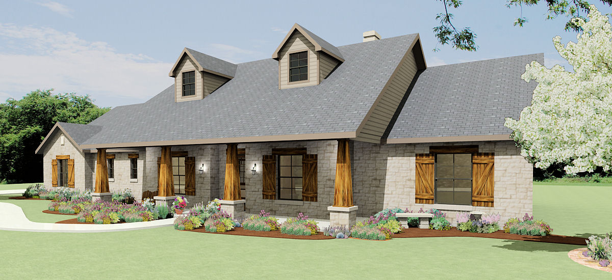 Home | Texas House Plans - Over 700 Proven Home Designs ... Ranch House Fencing Designs on