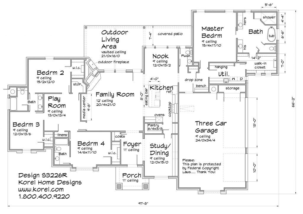 Floor Plan S3226R